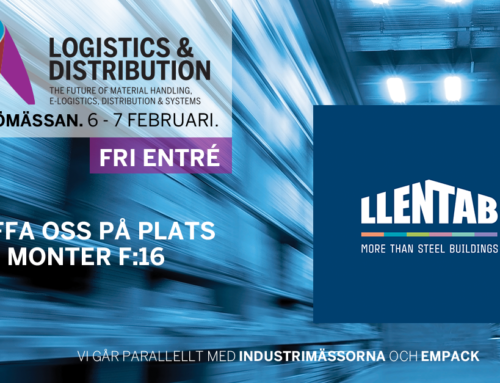 LLENTAB ställer ut på Logistik & Distribution i Malmö