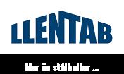 Stålhallar LLENTAB Logotyp