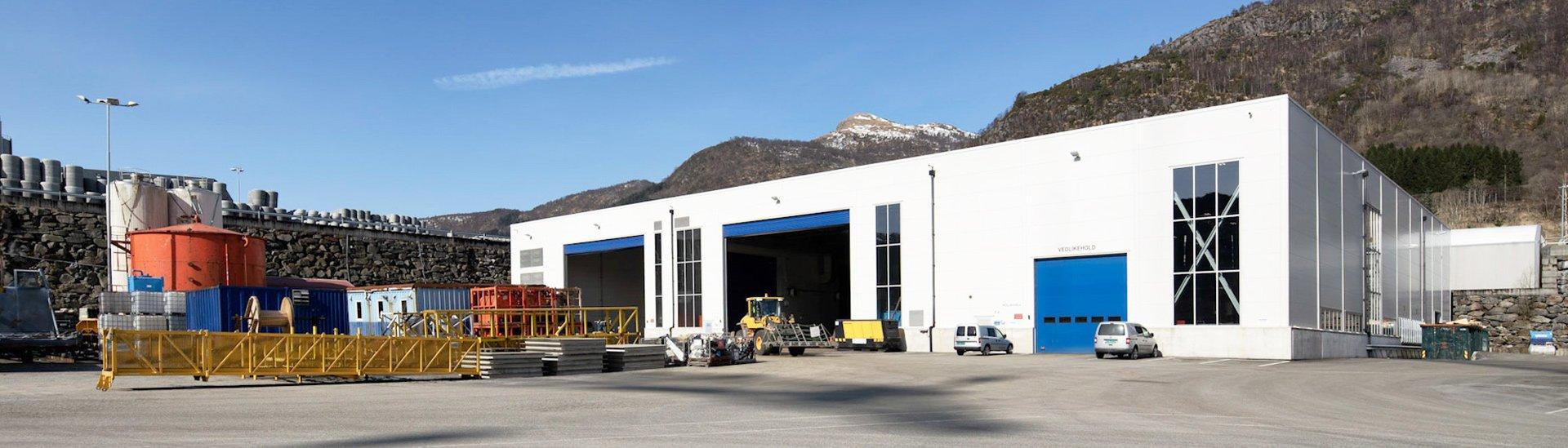 Production building LLENTAB