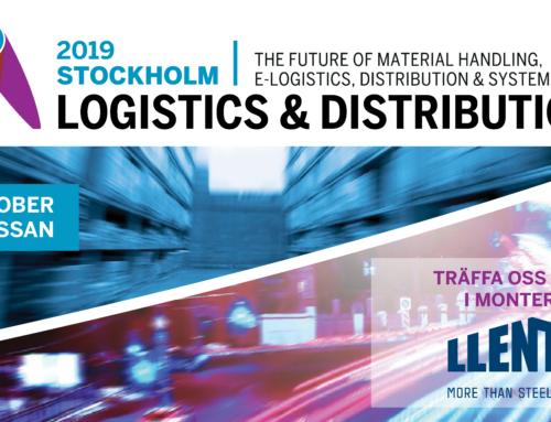 LLENTAB ställer ut på Logistics & Distribution i Kista